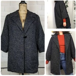 Cabi Blair Wool Tweed oversized coat